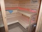 Saunabänke aus Espe