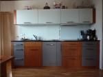 Küche Kirschbaum / grau