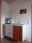 Kleinküche freischwebend bei Ravensburg